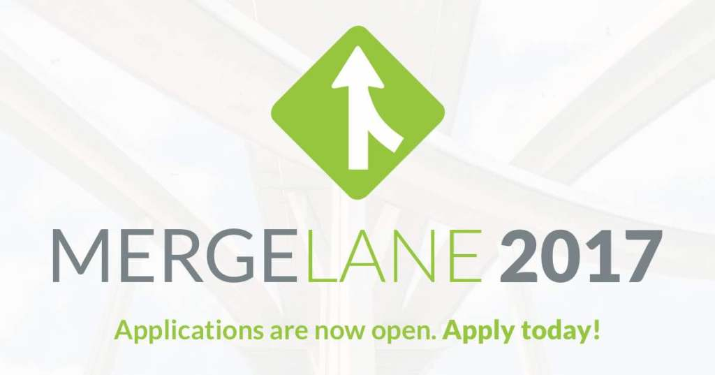 2017 MergeLane Startup Accelerator Applications Are Open